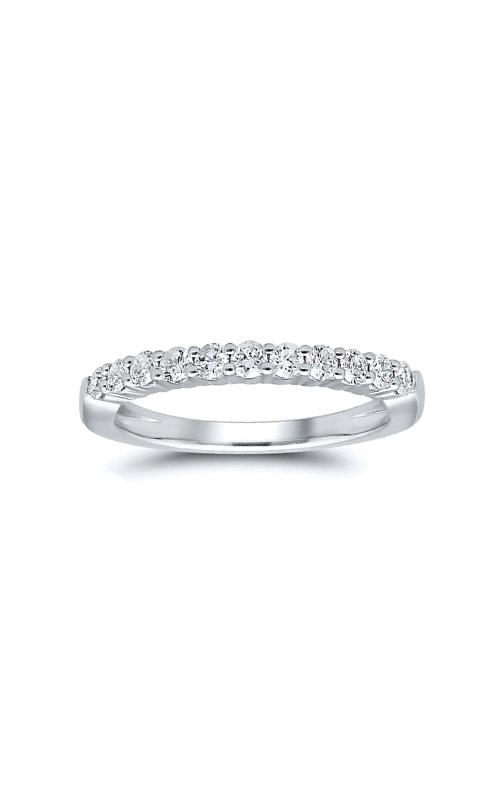 Albert's 14k White Gold 1ctw Round Diamond Wedding Band 4215261004W-01 product image