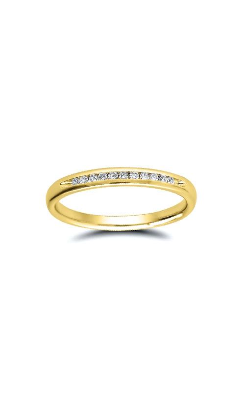 Albert's 10k Yellow Gold 1/10ctw Diamond Wedding Band 4310620100Y product image