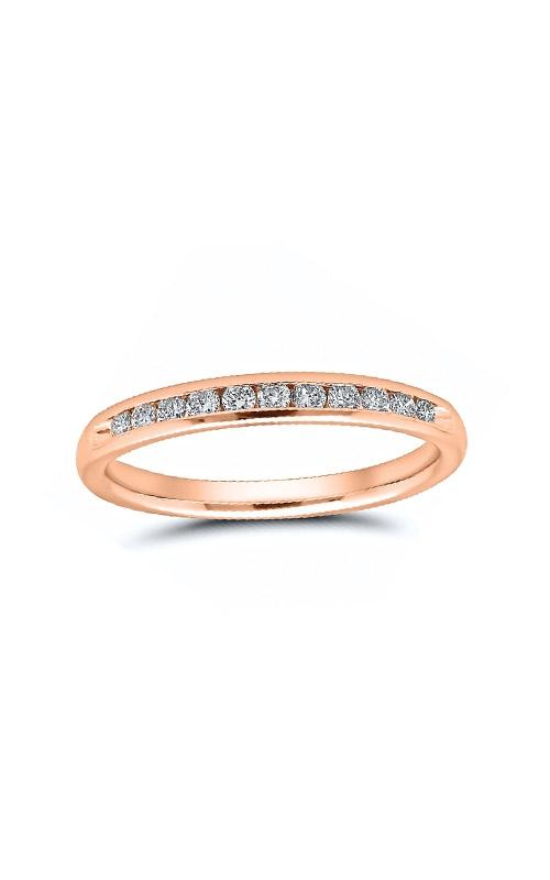 Albert's 14k Rose Gold 1/4ctw Diamond Wedding Band 4310620254P product image