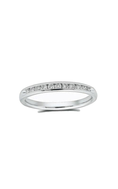 Albert's 14k White Gold 1/4ctw Diamond Wedding Band 4310620254W product image