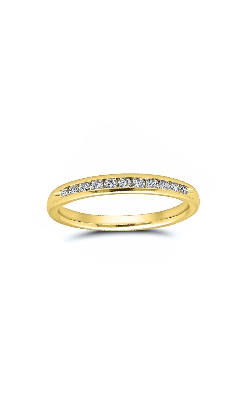 Albert's 14k Yellow Gold 1/4ctw Diamond Wedding Band 4310620254Y product image