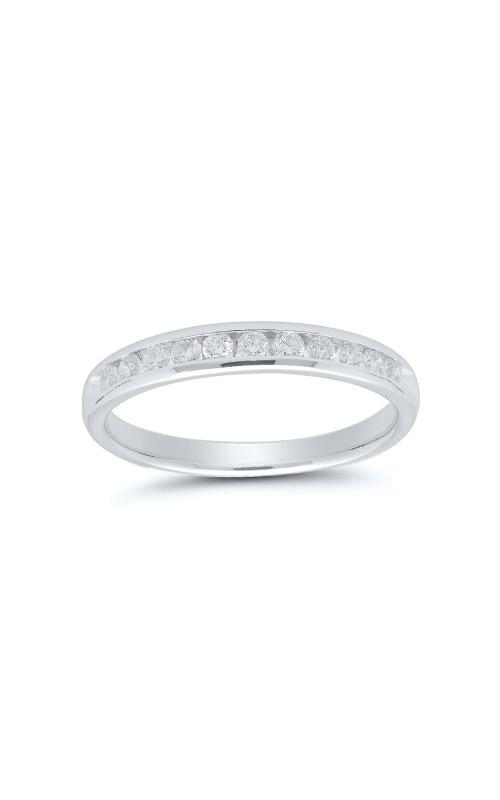 Albert's 14k White Gold 1/3ctw Diamond Wedding Band 4310620334W product image