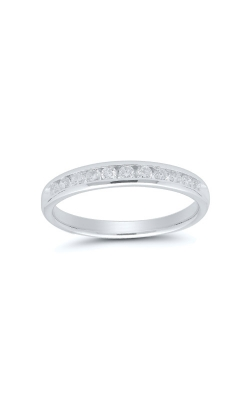 Albert's 14k White Gold 1/3ctw Diamond Wedding Band 4310620334W product image