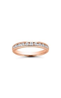 Albert's 14k Rose Gold 1/2ctw Diamond Wedding Band 4310620504P product image