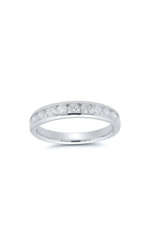 14k White Gold 3/4ctw Diamond Wedding Band 4310620754W-01 product image