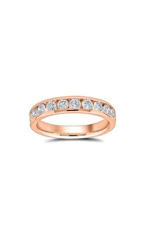 Albert's 14k Rose Gold 1ctw Diamond Wedding Band 4310621004P product image