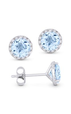 Alberts Blue Topaz Earrings E1023BTW product image