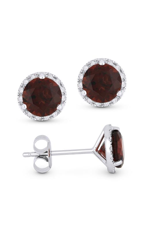 Alberts Garnet Earrings E1023GAW product image