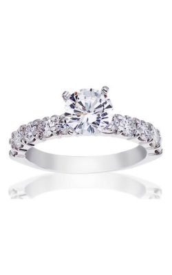 Albert's 14k White Gold 1ctw Diamond Engagement Ring 67116D-14KW-4-4 product image