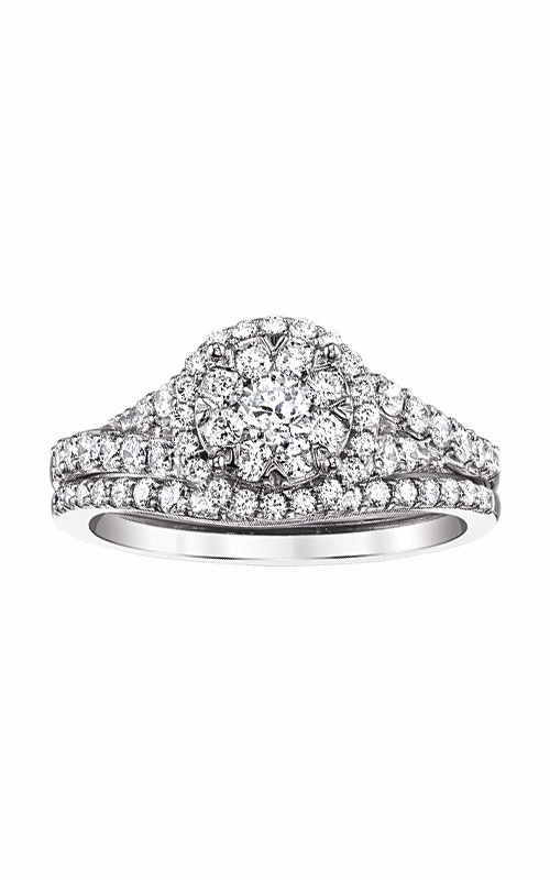 Albert's 14k White Gold 1ctw Engagement Ring RB-6326BB-B56R4W product image