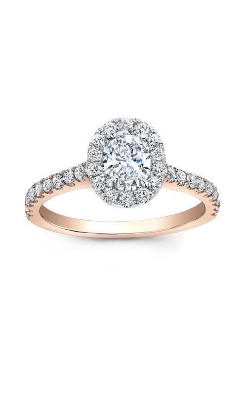 Alberts Engagement Ring AJ-R13423-ROSE product image