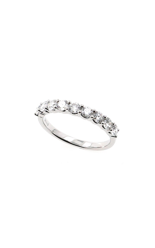 Albert's 14k White Gold .75ctw Round Diamond Wedding Band B10012-HW072A product image