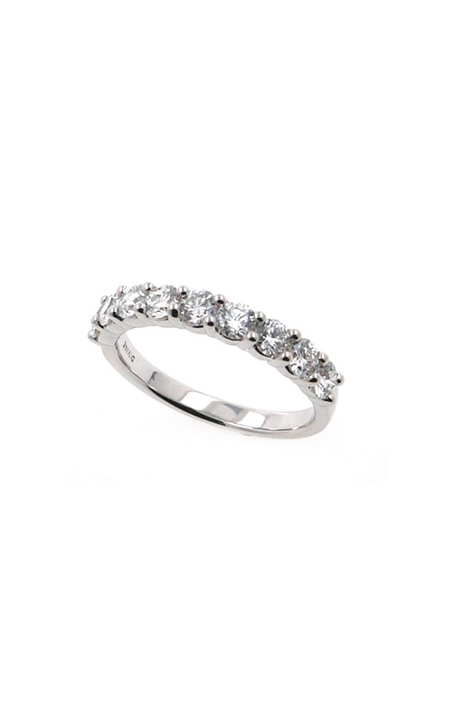 Albert's 14k White Gold 1.00ctw Round Diamond Wedding Band B10012-HW102A product image