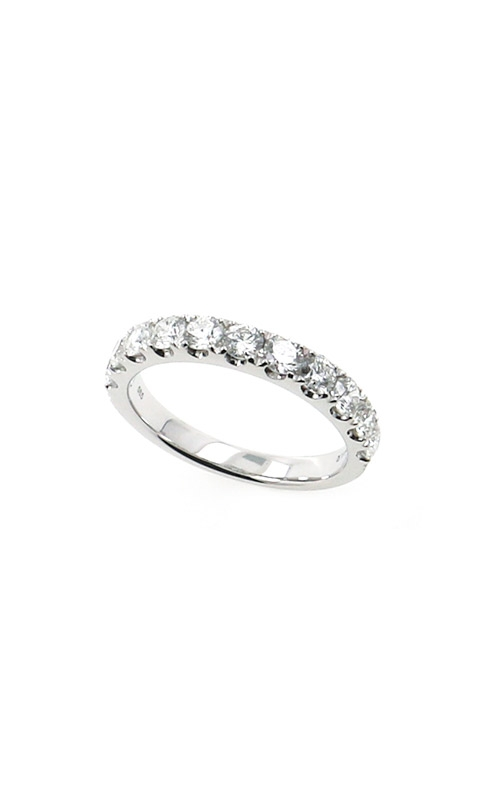 Albert's 14k White Gold 1.00ctw Round Wedding Band B10014-HW102A product image