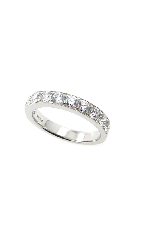 Albert's 14k White Gold 1.00ctw Round Micro Pave Wedding Band B10016-HW102A product image