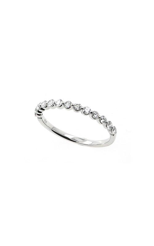 Albert's 14k White Gold .34ctw Round Diamond Wedding Band B10018-HW032A product image