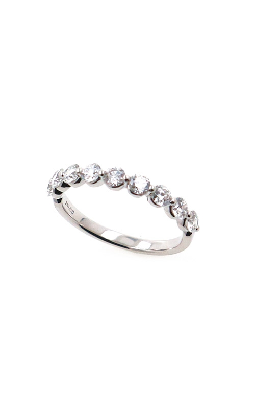 Albert's 14k White Gold .75ctw Round Diamond Wedding Band B10018-HW072A product image