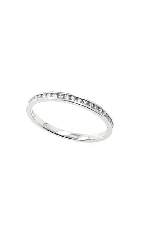 Albert's 14k White Gold .15ctw Diamond Channel Wedding Band B10020-HW012A product image