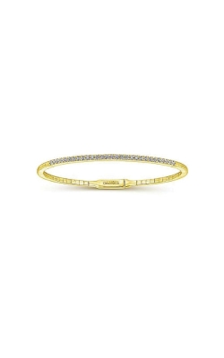 Albert's 14k Yellow Gold .52ctw Diamond Bangle Bracelet BG3716-7Y45JJ product image