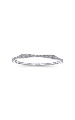 Albert's 14k White Gold 1.05ctw Demure Diamond Bangle BG3972W45JJ product image