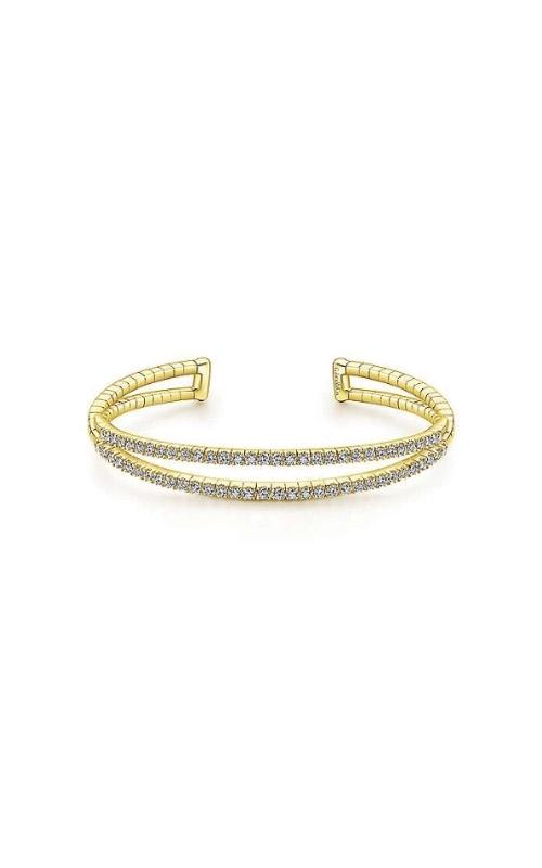 Albert's 14k Yellow Gold 1.58ctw Diamond Bangle Bracelet BG4008-7Y45JJ product image