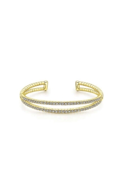 Albert's 14k Yellow Gold 1.58ctw Diamond Bangle Bracelet BG4008-7Y45JJ product image