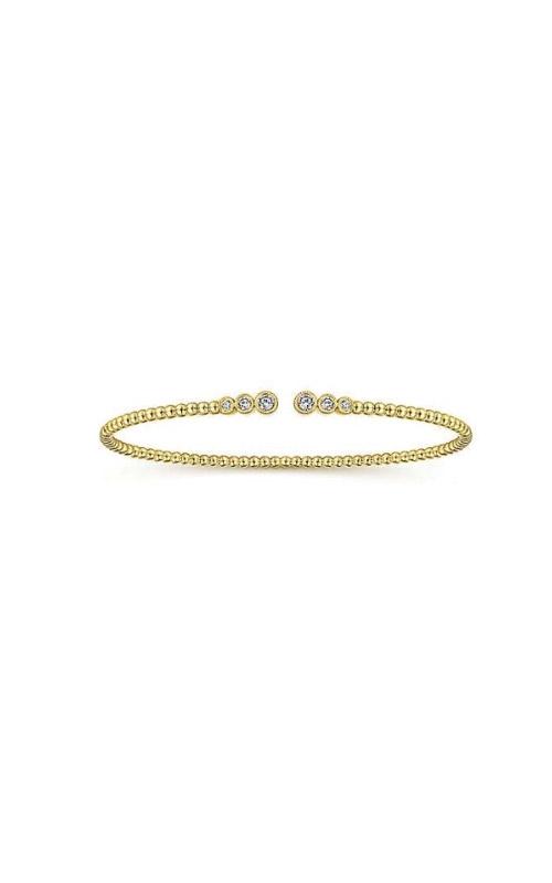 Albert's 14k Yellow Gold .24ctw Diamond Bangle BG4120-7Y45JJ product image