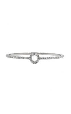 Albert's 14k White Gold & 4.88ct Diamond Bangle Bracelet product image