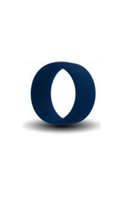 Albert's Blue Silicone Band Size 4 SILICONE4-BLUE product image