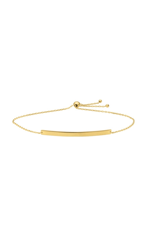 Albert's 14k Yellow Gold ID Bolo Bracelet BOLBAR1-9 product image