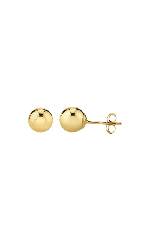 Albert's 14k Yellow Gold 6mm Ball Earrings BP-Y-6MM product image