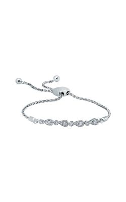 Albert's 14k Sterling Silver 1/4ctw Diamond Bolo Bracelet BR1385-42V product image