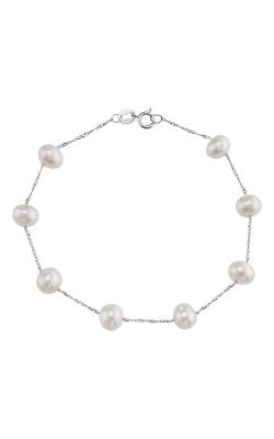 Albert's 14k White Gold Freshwater Pearl Bracelet BW00642PF product image