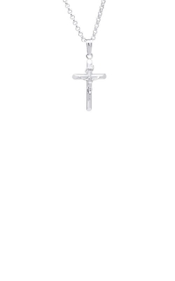 Albert's Sterling Silver Crucifix Necklace C1000 product image