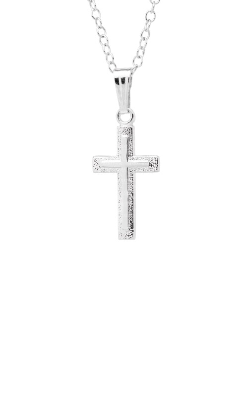 Albert's Sterling Silver Cross Necklace C100 product image