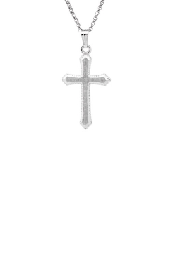 Albert's Sterling Silver Cross Necklace C307 product image