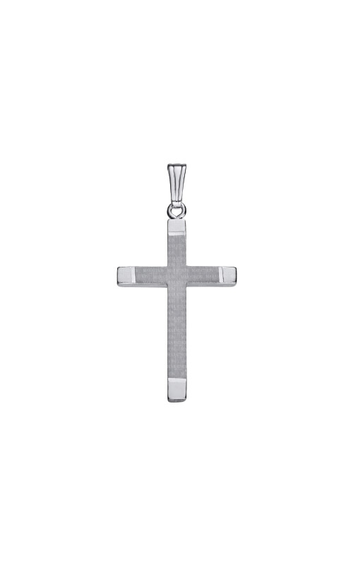 Albert's Sterling Silver Cross Necklace C319 product image