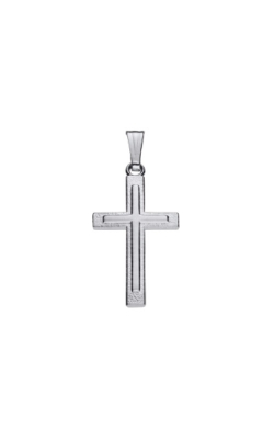 Albert's Sterling Silver Cross Necklace C573 product image