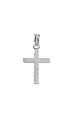 Albert's Sterling Silver Cross Necklace C581 product image