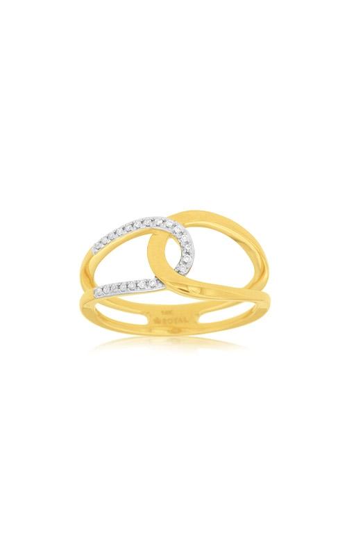 Albert's 14k Yellow Gold .10ctw Diamond Fashion Ring C7837D product image