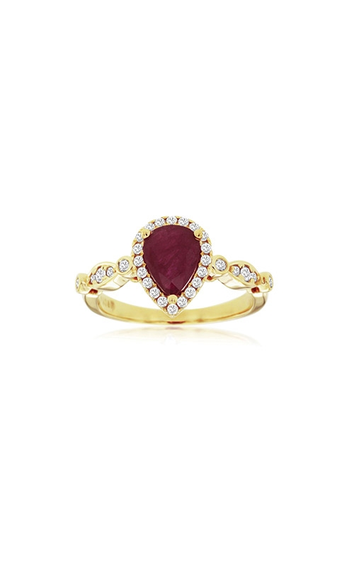 Albert's 14k Yellow Gold 1.37ctw Ruby and Diamond Ring C8607RB product image