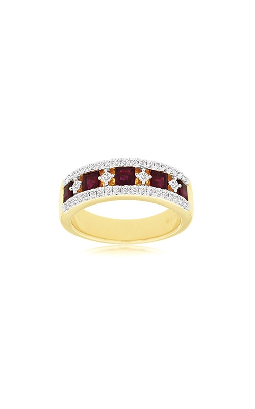 Albert's 14k Yellow Gold 1.40ctw Ruby and Diamond Ring C8669RB product image