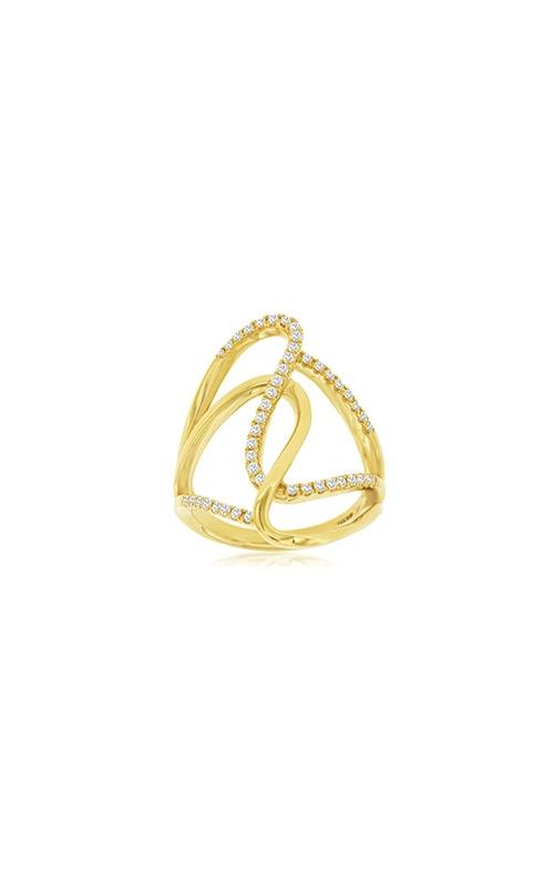 Albert's 14k Yellow Gold .33ctw Diamond Swirl Ring C9028D product image