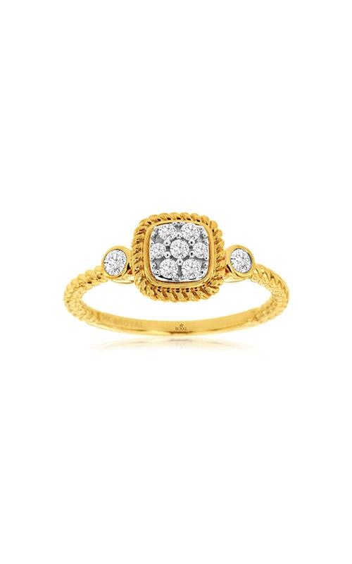Albert's 14k Yellow Gold .19ctw Diamond Cluster Ring C9910D product image