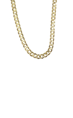 Albert's 14k Yellow Gold 18 Inch 2.5mm Curb Chain CCURB01820 product image