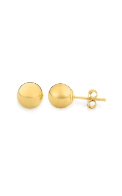 Albert's Yellow Gold 4mm Ball Earrings E311 product image