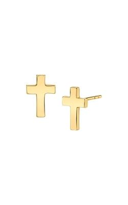 Albert's 14k Yellow Gold Cross Earrings ECRS29 product image