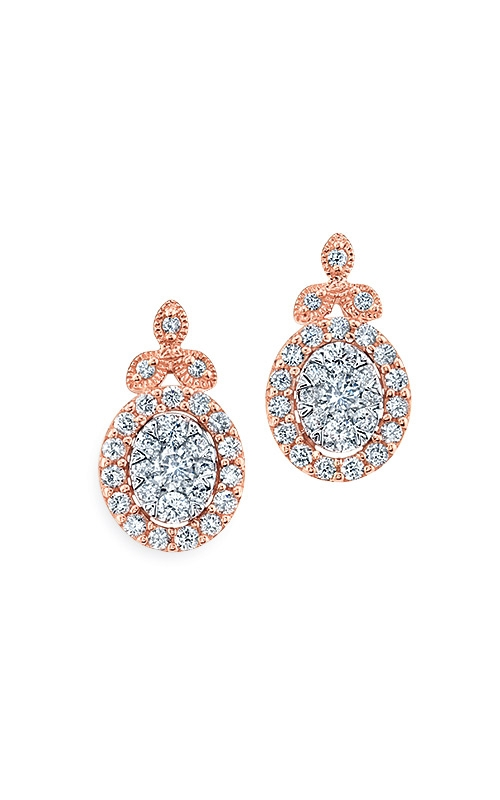 Albert's 14k Rose Gold 1/2ctw Diamond Earrings EF-5285A78T4S product image
