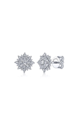 Albert's 14k White Gold .53ctw Star Earrings EG13663W45JJ product image