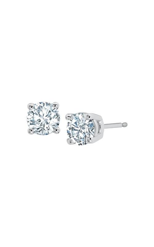 Albert's 14k White Gold 2.00ctw Lab Grown Diamond Stud Earrings EM1006-200-WLG product image